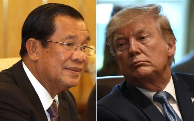 Hun Sen confident Trump 'won't be foolish'