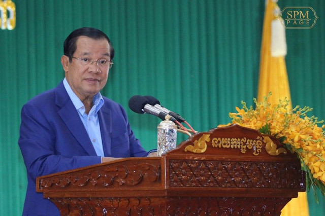 Hun Sen Dismisses Rumors that his Son Hun Manet Will Soon Succeed Him