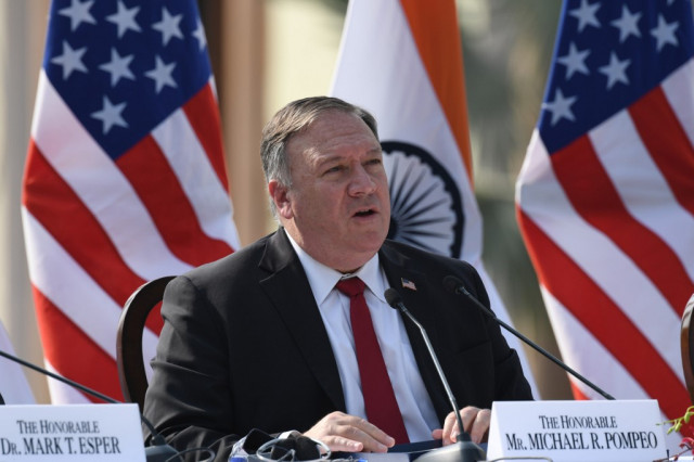 China blasts 'bully' US ahead of Pompeo visit to Sri Lanka